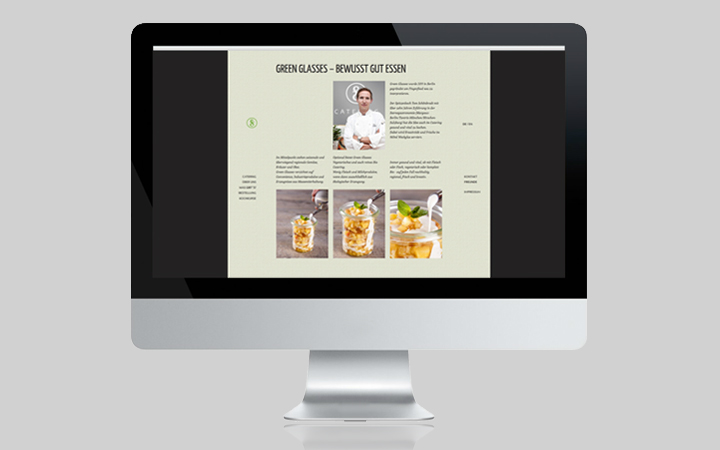 Webdesign Green Glasses 2